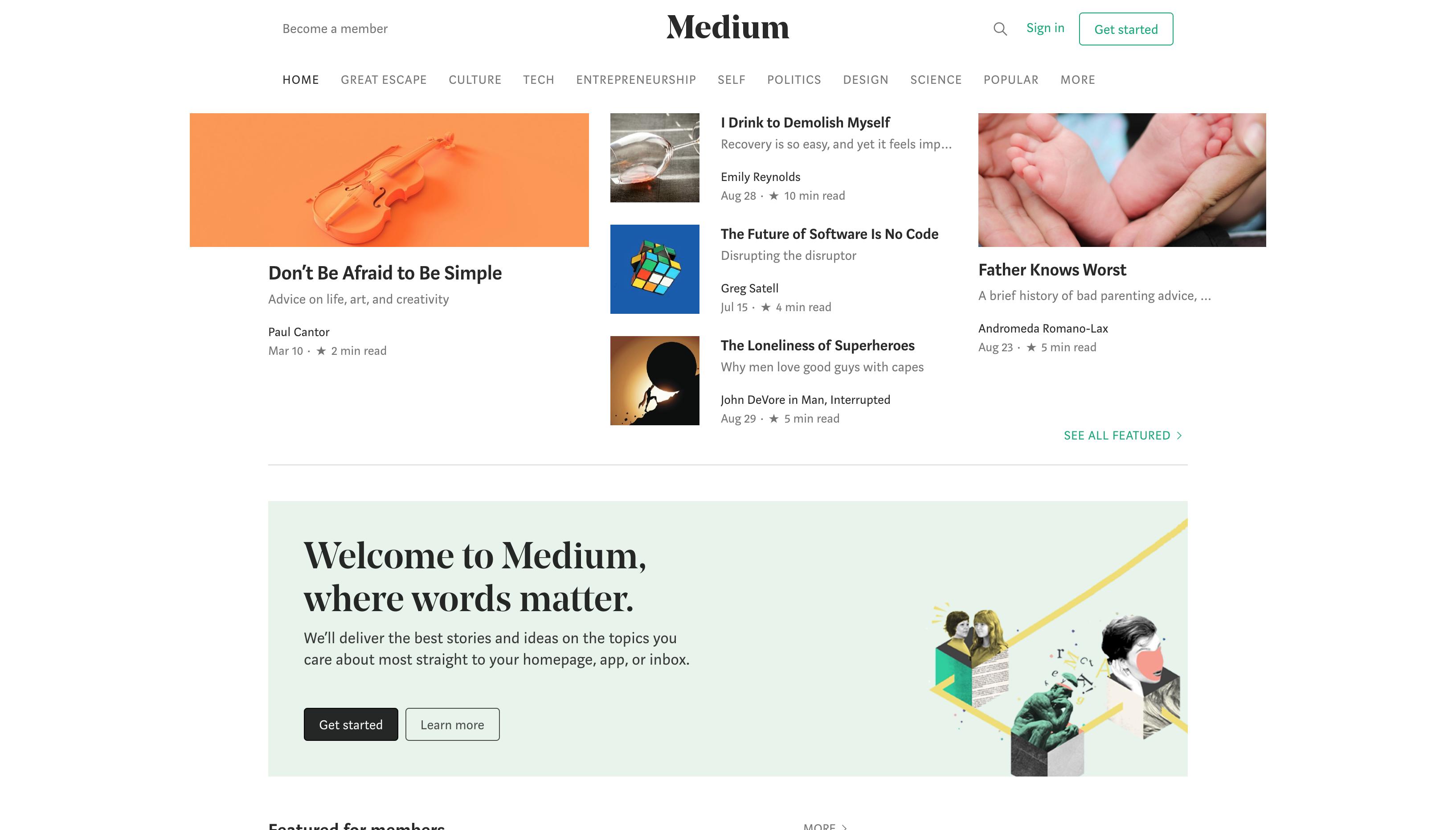 海外で人気のブログサービス「Medium」とは?日本でも利用者数が増加中!